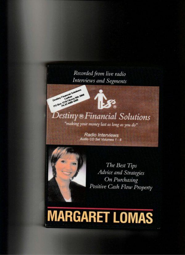Radio Interviews with Margaret Lomas – 6 CD set