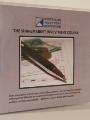 The Sharemarket Investment Course DVD Set – Used