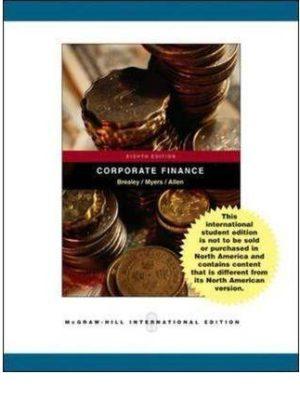 Corporate Finance 8th Ed