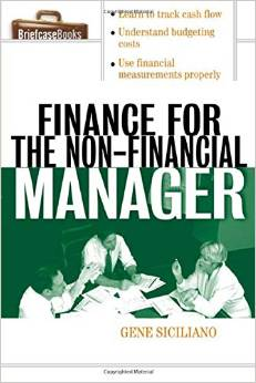 Finance For The Non-Financial Mgr