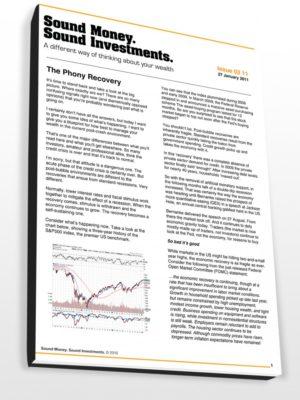 Sound Money Sound Investments Newsletter