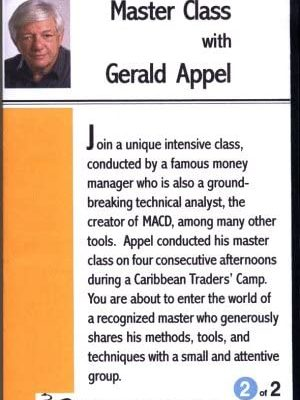 Master Class with Gerald Appel – 4 DVD set with charts DVD