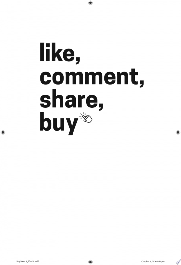 Like, Comment, Share, Buy